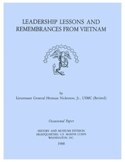 Leadership Lessons and Remembrances from... by Nickerson, Herman