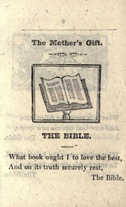 The Mother's Gift by York : Printed  J. Kendrew, Colliergate