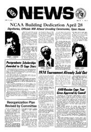 Ncaa News 19730415 by Ncaa