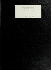 Participative Budgeting as a Communicati... by Harr, David James