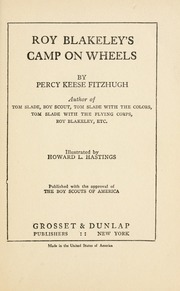 Roy Blakeley's Camp on Wheels by Fitzhugh, Percy Keese, 1876-1950