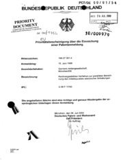Uspto Patents Application 10009979 by United States Patent