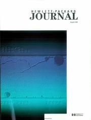 Hewlett-Packard Journal Vol. 47 No. 4 (1... by