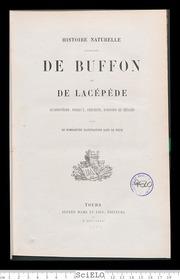 Histoire Naturelle, Extraite De Buffon E... by Buffon, Georges Louis Leclerc Comte De 1707-1788