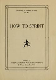 How to Sprint by