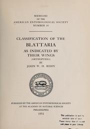 Memoirs of the American Entomological So... Volume Vol. No. 14 (1951) by American Entomological Society