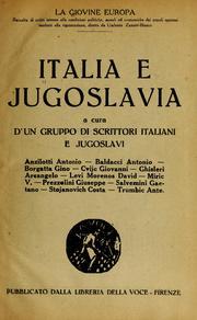 Italia E Jugoslavia by