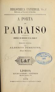 A Porta Do Paraisoed. Il by Pimentel, Alberto