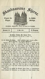 Skandinaviens Stjerne, Vol. 53 No. 10 Volume Vol. 53 No. 10 by Scandinavian and Danish Mission