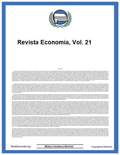 Revista Economia, Vol. 21 Volume Vol. 21 by Universidad De San Carlos De Guatemala