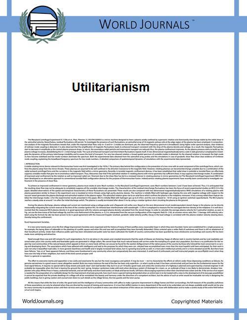Utilitarianism by Mill, John Stuart
