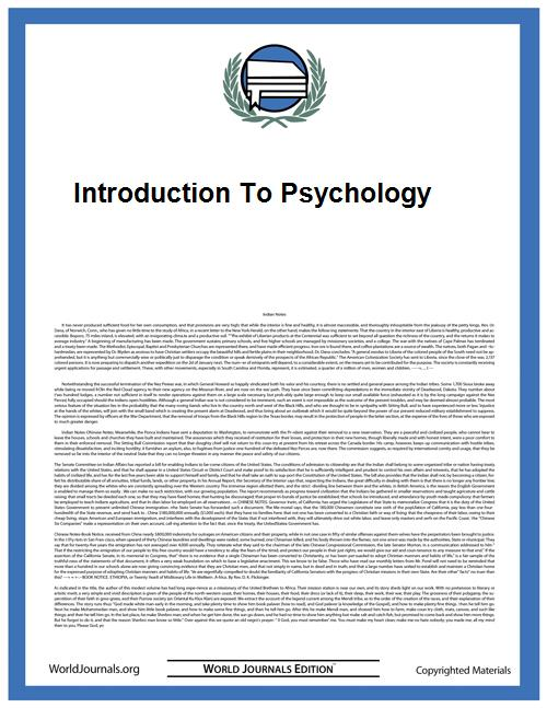 Introduction to Psychology by Neet, George Wallace