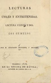Los Gemedos by Céspedes Y Monroy, Atanasio