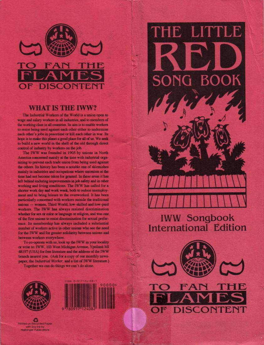 The Little Red Song Book by Industrial Workers of the World