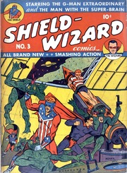 Shield Wizard Comics 03 (Re-Edit) by Mlj/Archie Comics