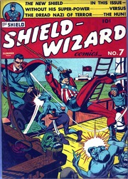 Shield Wizard Comics 07 (Re-Edit)-Now C2... by Mlj/Archie Comics