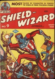Shield Wizard Comics 09 (Re-Edit) by Mlj/Archie Comics