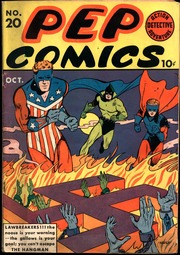 Pep Comics 20 by Mlj/Archie Comics
