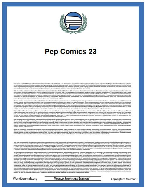 Pep Comics 23 by Mlj/Archie Comics