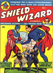 Shield Wizard Comics 01- (Re-Edit) by Mlj/Archie Comics