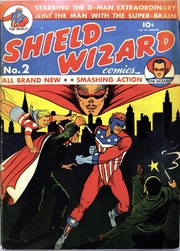 Shield Wizard Comics 02 (Re-Edit) by Mlj/Archie Comics