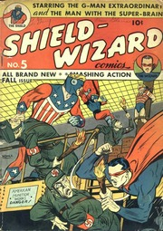 Shield Wizard Comics 05- (1941) by Mlj/Archie Comics