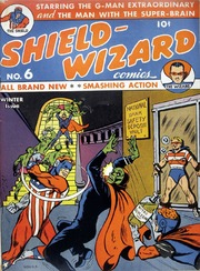 Shield Wizard Comics 06 (Re-Edit) by Mlj/Archie Comics