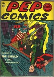 Pep Comics 10 (1940) by Mlj/Archie Comics