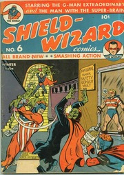 Shield Wizard Comics 06- (1941) by Mlj/Archie Comics