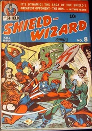 Shield Wizard Comics 08 (Re-Edit) by Mlj/Archie Comics