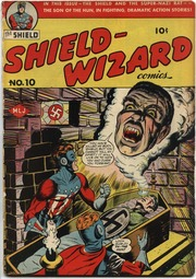 Shield Wizard Comics 10- (1943) by Mlj/Archie Comics