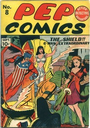 Pep Comics 08 (1940) by Mlj/Archie Comics