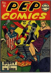 Pep Comics 15 (1941) by Mlj/Archie Comics