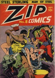 Zip Comics 08 (1940) by Mlj/Archie Comics