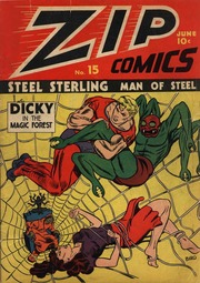 Zip Comics 15 (1941) by Mlj/Archie Comics