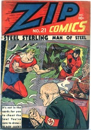 Zip Comics 21 (1941) by Mlj/Archie Comics
