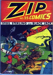 Zip Comics 25 (1942) by Mlj/Archie Comics