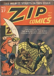 Zip Comics 27 (1942) by Mlj/Archie Comics