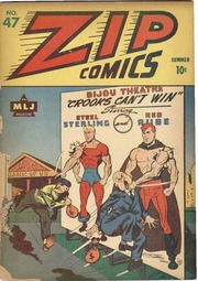 Zip Comics 47 (1944) by Mlj/Archie Comics