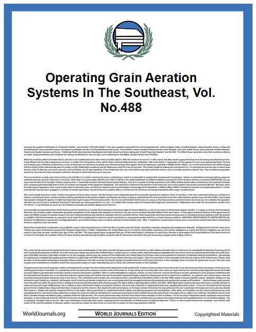 Operating Grain Aeration Systems in the ... Volume Vol. no.488 by Smith, Lloyd L. (Lloyd Leroy), 1913-