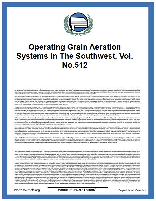 Operating Grain Aeration Systems in the ... Volume Vol. no.512 by Hutchison, Reed S