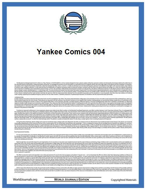Yankee Comics 004 by Charlton Comics