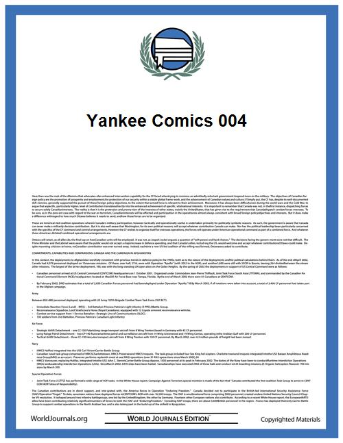 Yankee Comics 004 by Charlton Comics