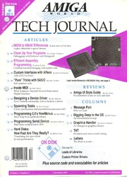 Amigaworld Tech Journal - Volume 1 Numbe... by