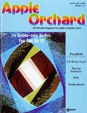 Apple Orchard V5N1 1984 Jan by