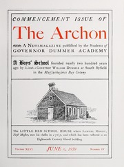 Archon by Dummer Academy