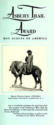 Asbury Trail Award by Boy Scouts of America, Western North Carolina Hist...
