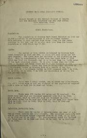 report 1943 by Kiveton Park (England). Rural District Council