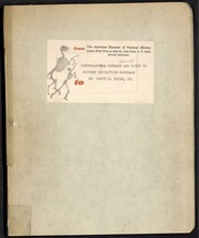 Chronological Summary and Guide to Whitn... by Bryan, E. H.(Edwin Horace),1898-1985