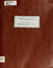 Determination of Flow in an Axial-to-Rad... by Major, Robert Allen